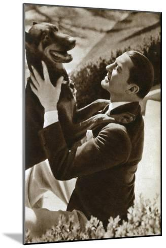 Clive Brook, English Actor, 1933--Mounted Giclee Print