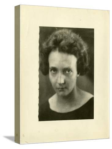 Portrait of Irene Joliot-Curie (1897-195)--Stretched Canvas Print