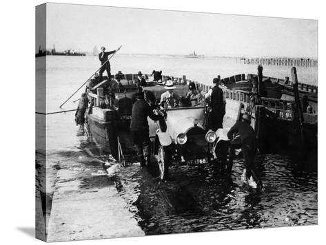 Ryde Ferry, 1920--Stretched Canvas Print