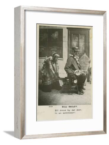 Bill Bailey, Won't You Please Come Home? Was a Popular Song Published in 1902--Framed Art Print