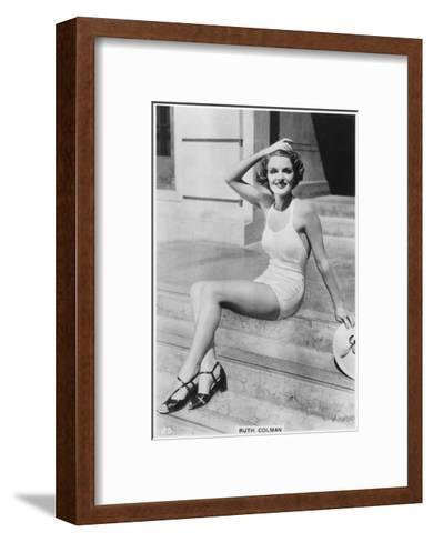 Ruth Colman, C1938--Framed Art Print