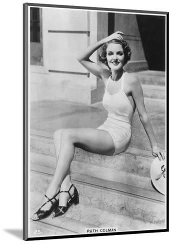 Ruth Colman, C1938--Mounted Giclee Print