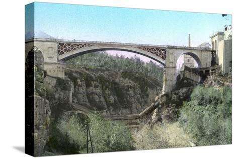 El-Kantara Bridge, Constantine, Northeast Algeria--Stretched Canvas Print