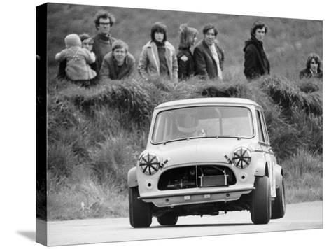 Gurston Down Hill Climb, Wiltshire, 12th May 1974--Stretched Canvas Print