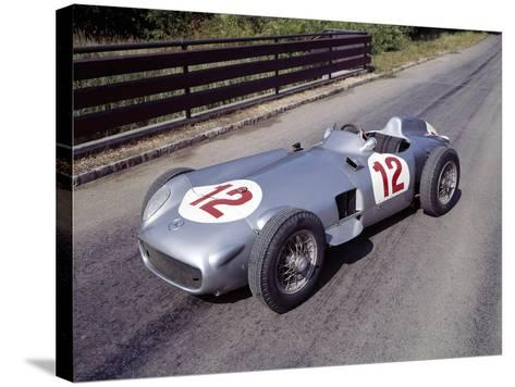 1954 Mercedes W196--Stretched Canvas Print