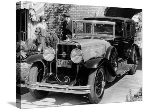1930 Cadillac V8 Formal Town Car, (C193)--Stretched Canvas Print