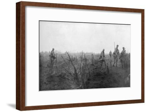 Allied Troops, 31 July 1917 at the Yser Canal, Belgium, 1926--Framed Art Print