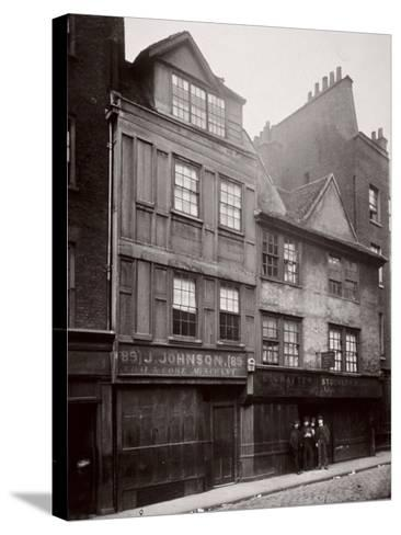 View of Houses in Drury Lane, Westminster, London, 1876--Stretched Canvas Print