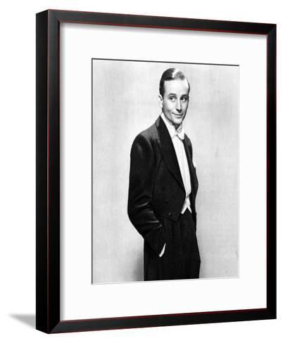 Frank Lawton, British Actor, 1934-1935--Framed Art Print