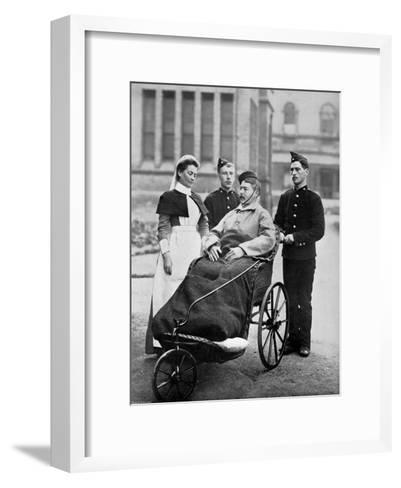 The Convalescent, Herbert Hospital, Woolwich, London, 1896-Gregory & Co-Framed Art Print