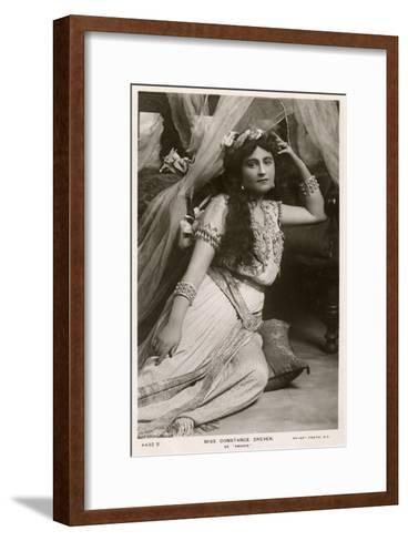 Constance Drever, British Actress, C1907--Framed Art Print