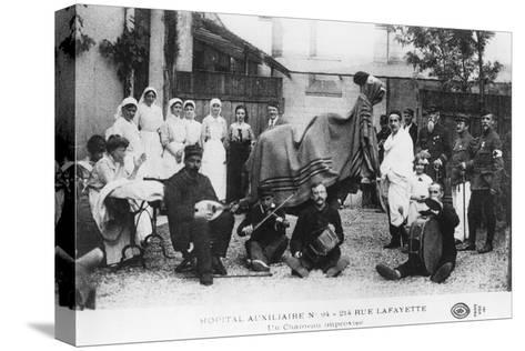 Improvised Camel, Auxiliary Hospital, Rue Lafayette, Paris, France, World War I, 1914-1918--Stretched Canvas Print