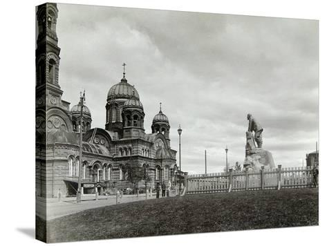 Lysva Station, Russia, 1900s--Stretched Canvas Print