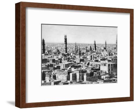 Cairo, Egypt, C1920S--Framed Art Print