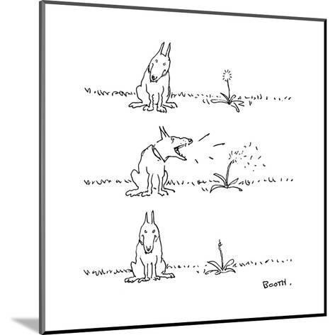 New Yorker Cartoon-George Booth-Mounted Premium Giclee Print