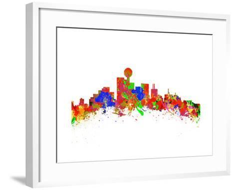 Dallas-chris2766-Framed Art Print