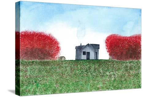 House-L Lea-Stretched Canvas Print
