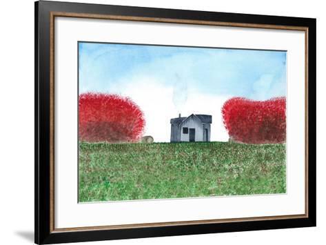 House-L Lea-Framed Art Print