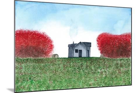 House-L Lea-Mounted Art Print