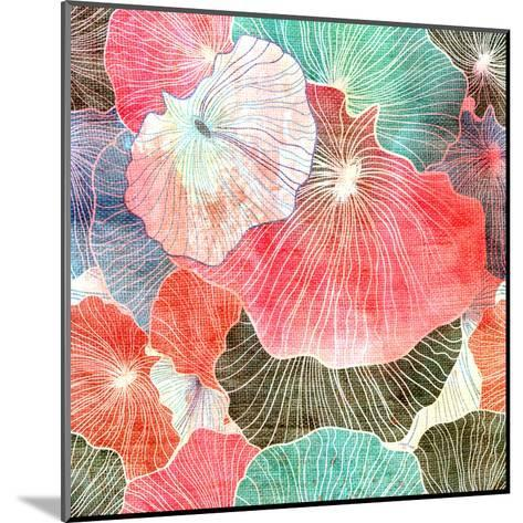 Abstract Bright Colorful Background-tanor27-Mounted Art Print