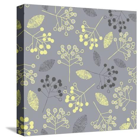 Winter's Grey VII-Ali Benyon-Stretched Canvas Print