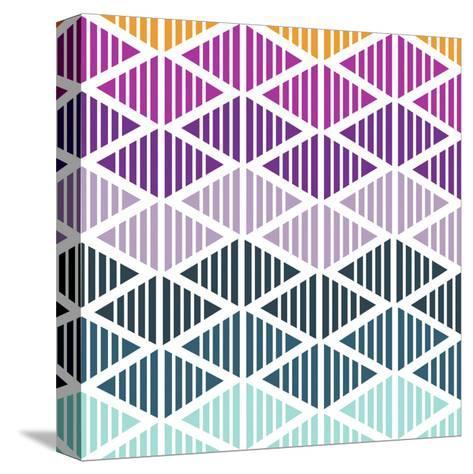 Tribal Arrows III-Nicole Ketchum-Stretched Canvas Print