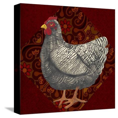 Yard Bird IV-Grace Popp-Stretched Canvas Print