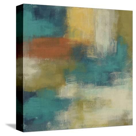 Blue Note II-June Erica Vess-Stretched Canvas Print