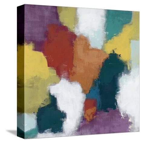 Color Cascade II-June Erica Vess-Stretched Canvas Print