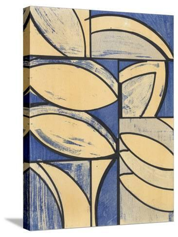 Indigo Complement III-Charles McMullen-Stretched Canvas Print