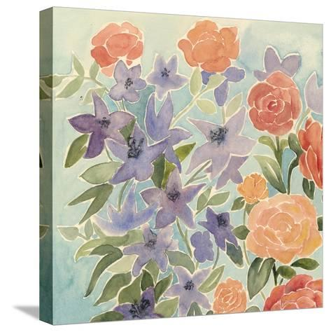 Flowers for Lilly I-Grace Popp-Stretched Canvas Print