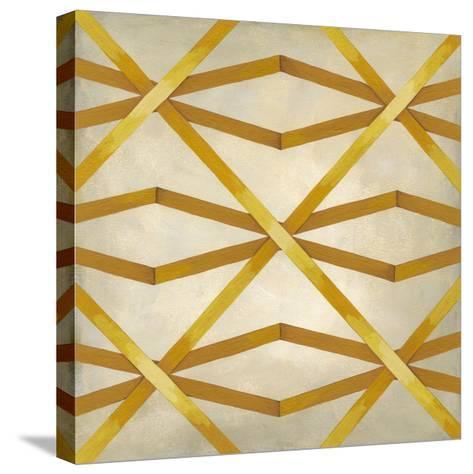 Woven Symmetry II-Chariklia Zarris-Stretched Canvas Print
