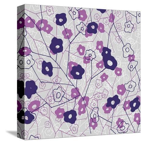 Cottage Rose Garden IV-Ali Benyon-Stretched Canvas Print