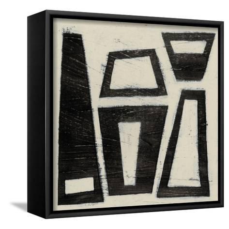Hieroglyph VII-June Erica Vess-Framed Canvas Print