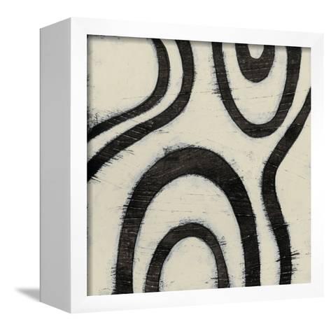 Hieroglyph XIII-June Erica Vess-Framed Canvas Print