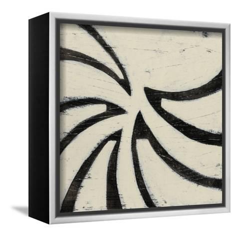 Hieroglyph XV-June Erica Vess-Framed Canvas Print