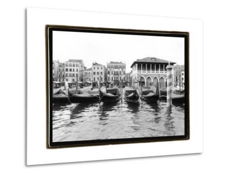 Glimpses, Grand Canal, Venice II-Laura Denardo-Metal Print