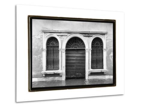 Hidden Passages, Venice V-Laura Denardo-Metal Print