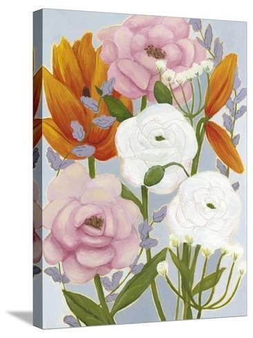 Morning Bouquet II-Grace Popp-Stretched Canvas Print