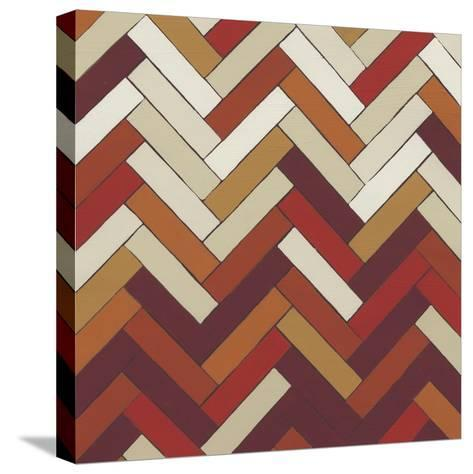 Parquet Prism IV-June Erica Vess-Stretched Canvas Print