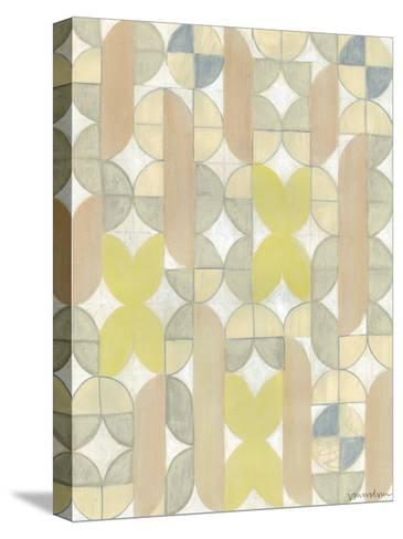 Radius Tile II-Vanna Lam-Stretched Canvas Print