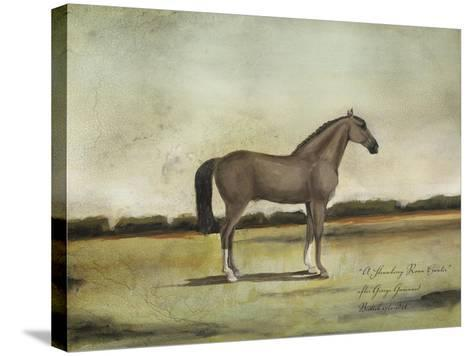 A Strawberry Roan Hunter-Naomi McCavitt-Stretched Canvas Print