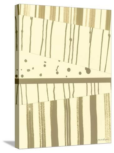 Papyrus Collage I-Vanna Lam-Stretched Canvas Print