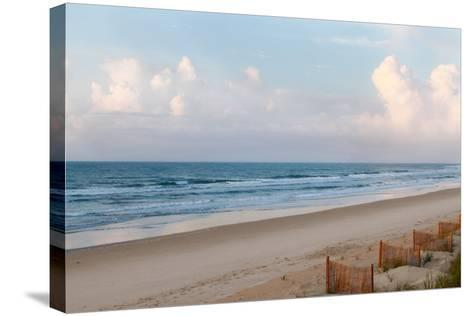 Beach Day-Kathy Mansfield-Stretched Canvas Print