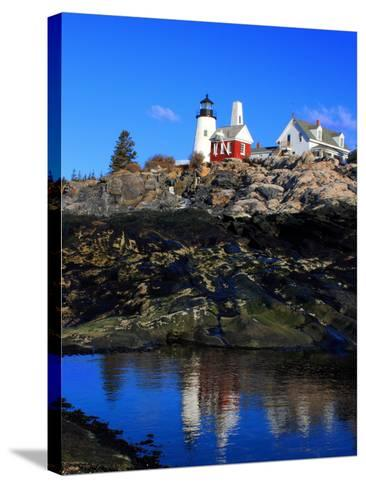 Pemaquid Point II-Jason Veilleux-Stretched Canvas Print