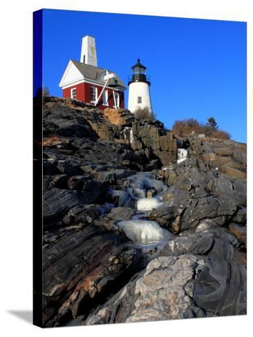 Pemaquid Point I-Jason Veilleux-Stretched Canvas Print