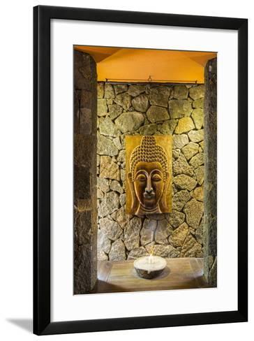 Yoga Room at the Spa in Beachcomber Dinarobin Hotel-Jon Arnold-Framed Art Print