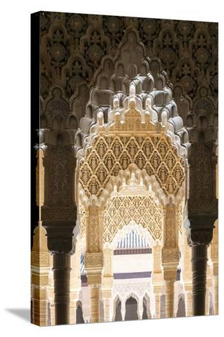 Spain, Andalusia, Granada. the Alhambra-Matteo Colombo-Stretched Canvas Print
