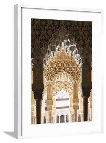 Spain, Andalusia, Granada. the Alhambra-Matteo Colombo-Framed Art Print