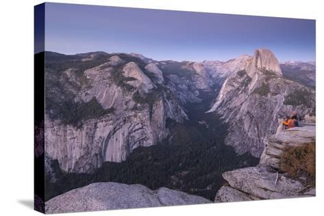 Half Dome and Yosemite Valley from Glacier Point, Yosemite National Park, California-Adam Burton-Stretched Canvas Print